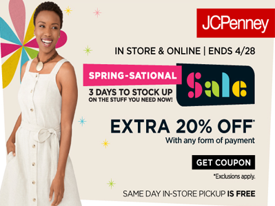 JCPenny Sale